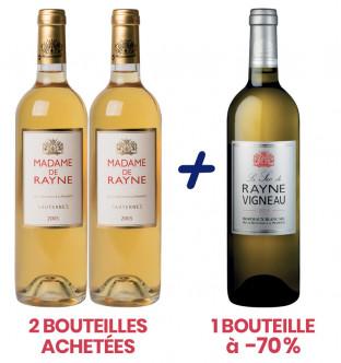 2 Madame de Rayne 2005 + 1...