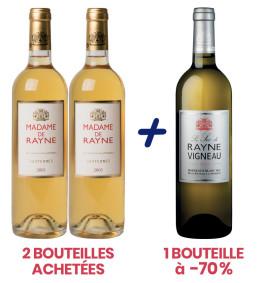 2 Madame de Rayne 2005 + 1 Sec de Rayne Vigneau 2014