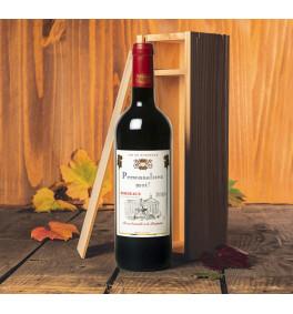 Bordeaux AOC 2018 en caisse bois