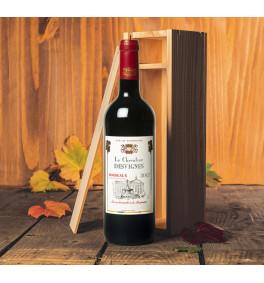 Bordeaux AOC 2017 en caisse bois