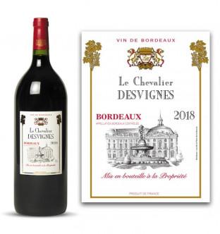Magnum Bordeaux AOC 2018 personnalisé