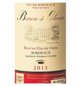 Baron de Clarsac Rouge 2015
