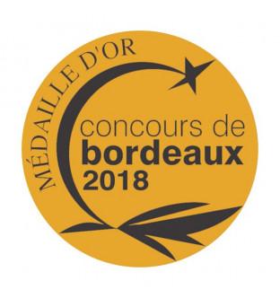 Château Haut Vallon 2017 Médaille d'Or