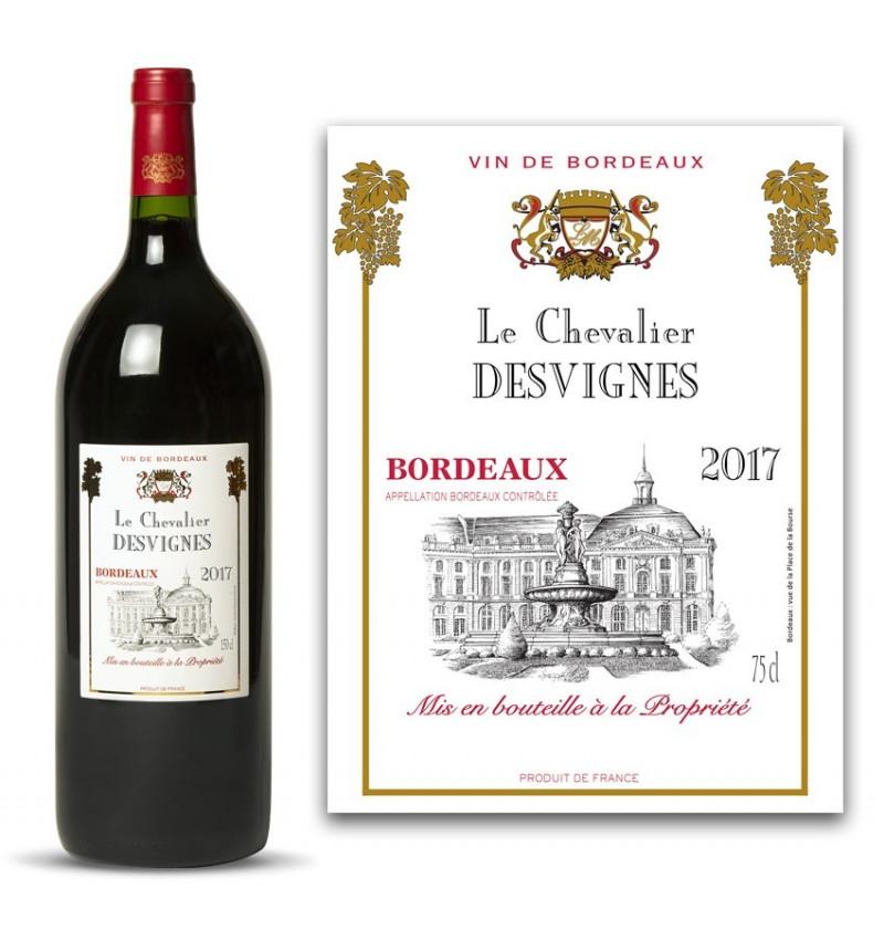 Magnum Chevalier 2017 personnalisé