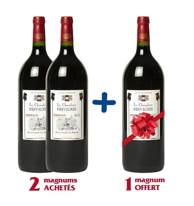 Chevalier 2017 Vin De Bordeaux Les Vignobles Lalande Moreau